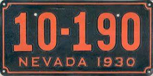 nevada 1930